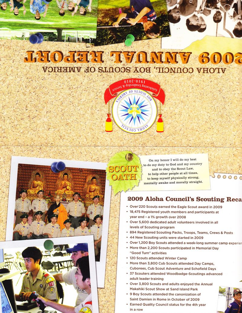 2009 Aloha Council Annual Report-1